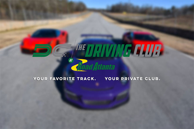 Driving Club at Road Atlanta Grand Opening Soon!